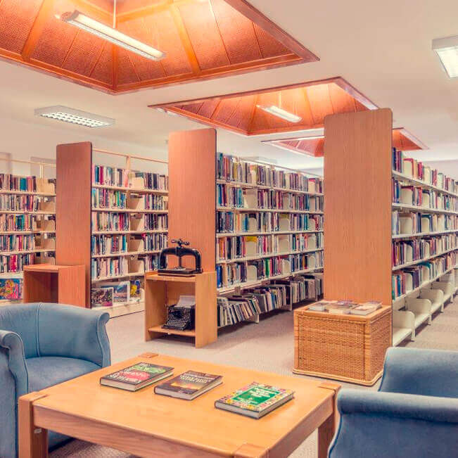 <p>Library</p> - 0
